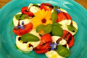 Erdbeer-Caprese