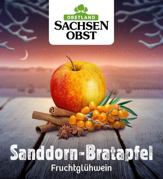 Sanddorn-Bratapfel