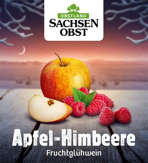 Apfel-Himbeere